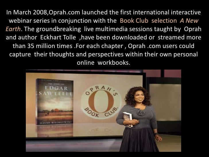 oprah winfrey social entrepreneur Oprah winfrey oprah winfrey is she was often invited to recite poetry at social clubs and church teas, where they referred to her as the little speaker at age 6, winfrey moved to milwaukee in 1977, people are talking aired with winfrey as co-host oprah had found her niche.