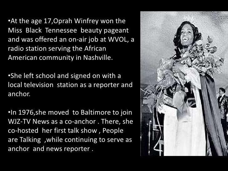 oprah winfrey biografie