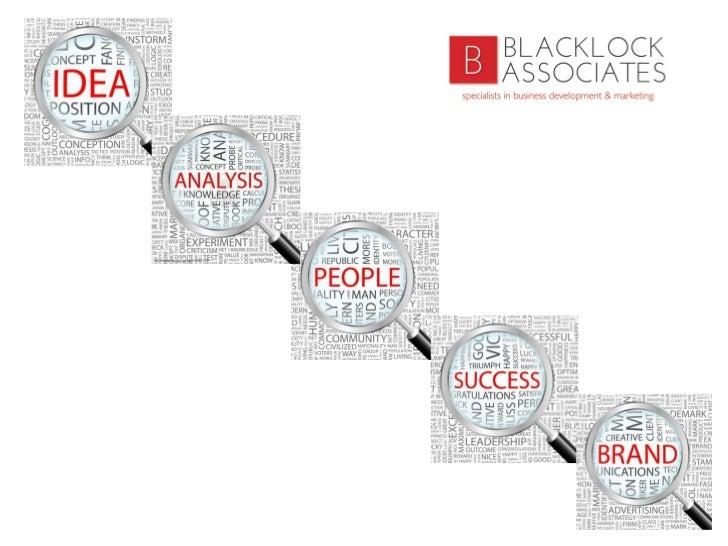 Blacklock Associates Ltd Slide 1