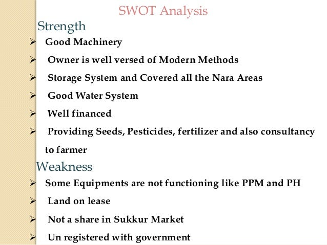 SWOT Analysis of Dairy Farming Business