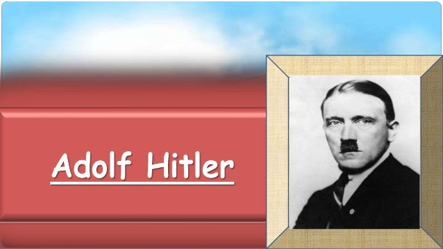 INTRODUCTION • Adolf Hitler ruled Germany from 1933 to 1945. He called himself Führer (Leader). Hitler believed that Germa...