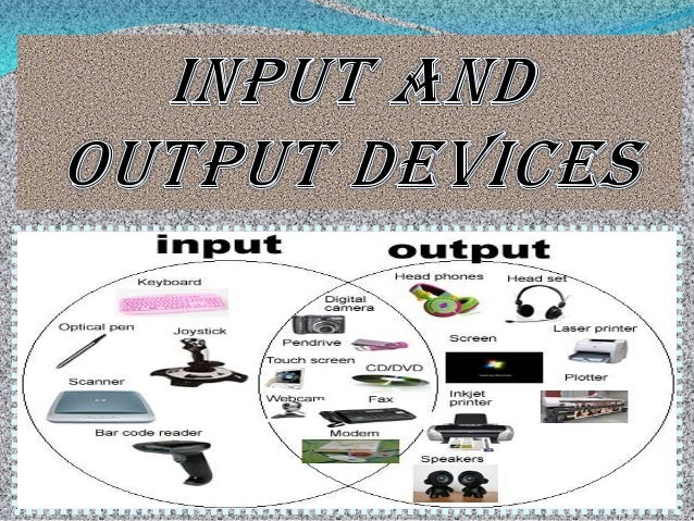 functions of input output devices Get an answer for 'what is the function of an input device' and find in contrast to the input device, an output device is input devices are types of.