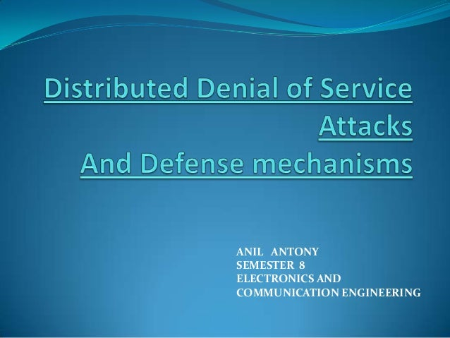 ANIL ANTONY SEMESTER 8 ELECTRONICS AND COMMUNICATION ENGINEERING