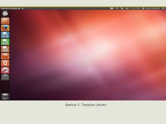 Gambar 2. Tampilan Ubuntu