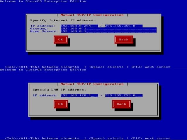 Konfigurasi router sebagai gateway