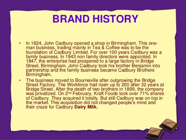 personal selling done by cadbury company Tim friesner marketing teacher designs and delivers online marketing courses, training and resources for marketing learners, teachers and professionals.