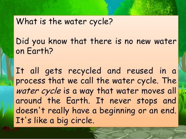 Grade 2 Science : The Water Cycle