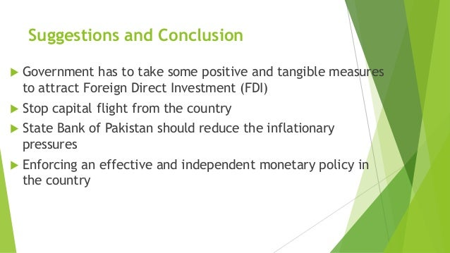 Efforts needed attract FDI to Pakistan: OICCI