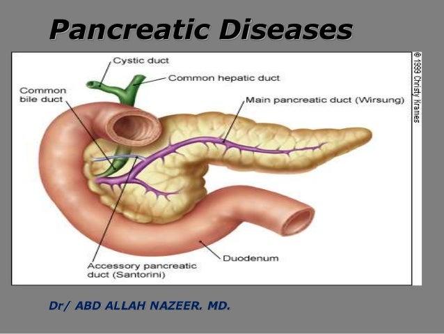 Pancreatic Diseases Dr/ ABD ALLAH NAZEER. MD.