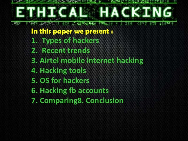 Learn ethical hacking facebook free