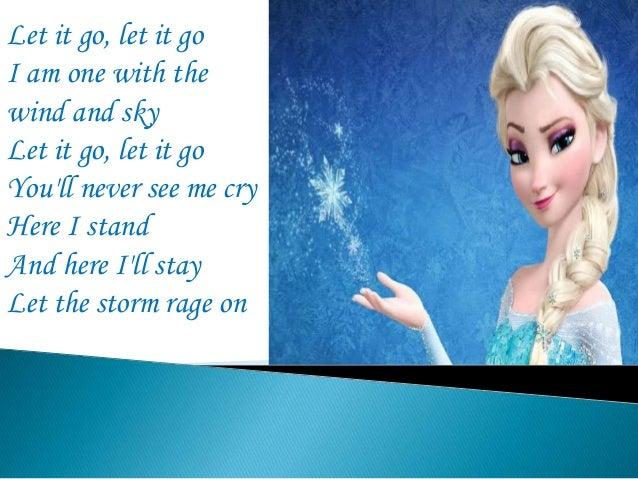 idina menzel frozen let it go lyrics - photo #8