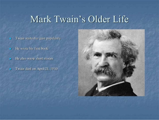 an introduction to the life and literature of mark twain Mark twain was an american author and humorist check out this biography to  know about his childhood, life, achievements, works & timeline.
