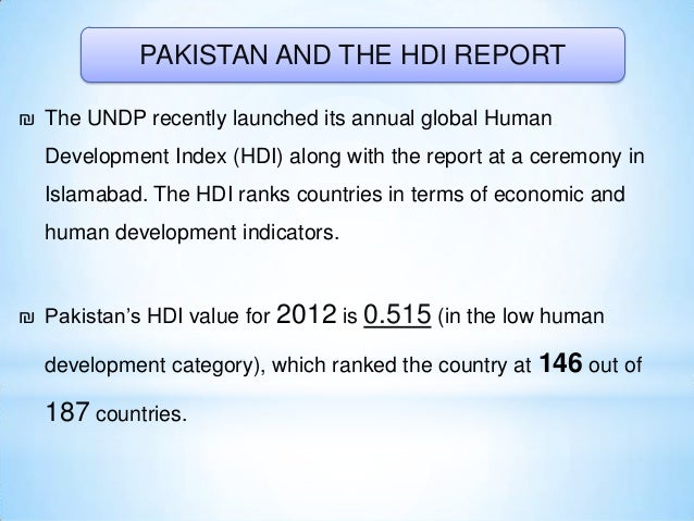 ₪ The report also pointed out that Pakistan's expenditure on social sectors is lower than some of the poor African countri...