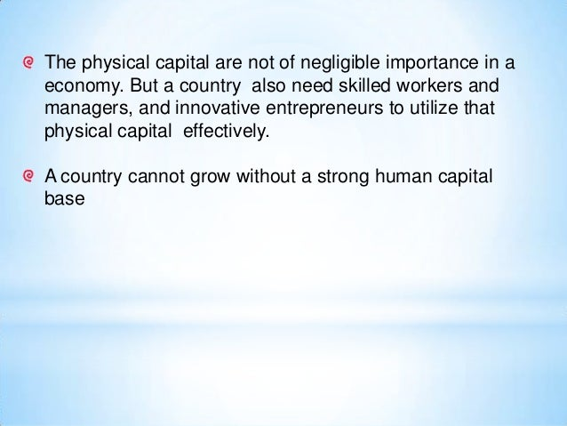 Human creativity is the ultimate economic resource Richard Florida
