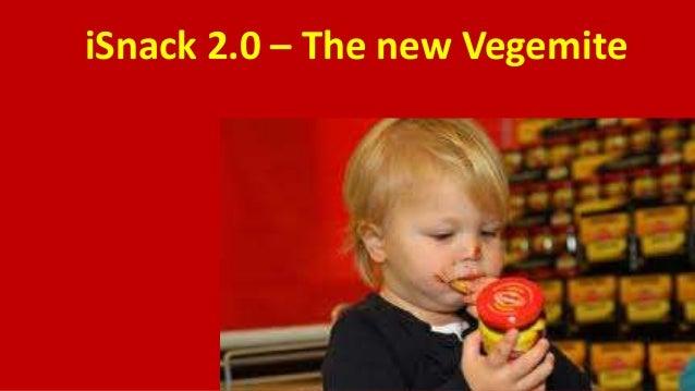 iSnack 2.0 – The new Vegemite