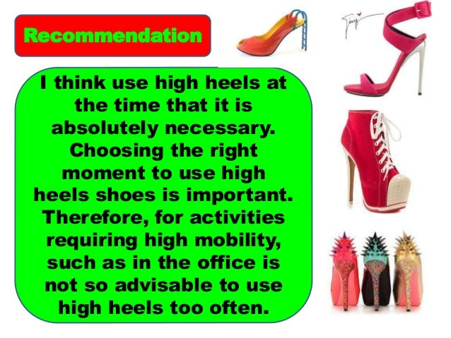 the effects of high heels Muscle damage from wearing high heels increases injury risk when women switch to sneakers, sandals.
