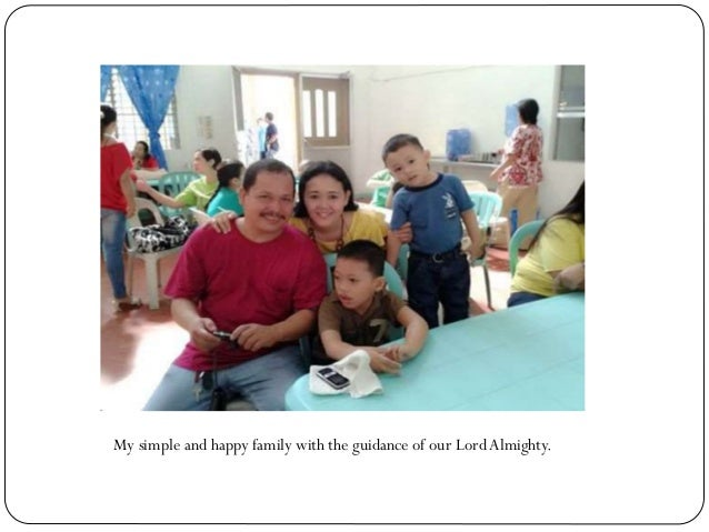 My simple and happy family with the guidance of our LordAlmighty.
