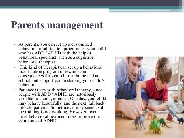 ADHD and its strategies