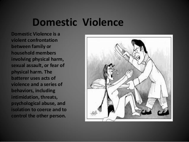 An analysis of the issue of the domestic violence and sexual assault of women