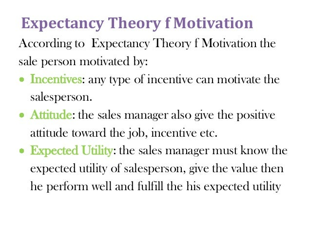 Expectancy Theory in the Workplace