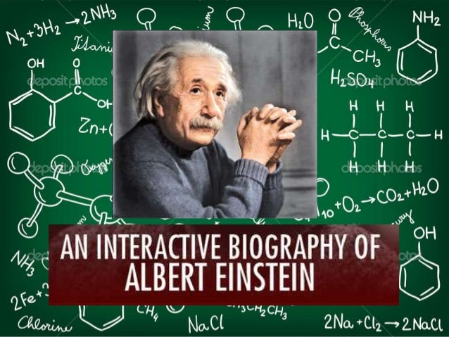 biography of einstein in english