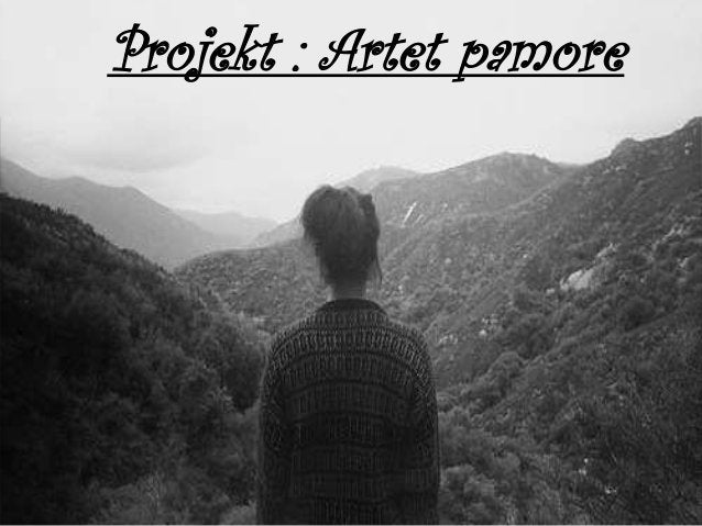 Projekt : Artet pamore