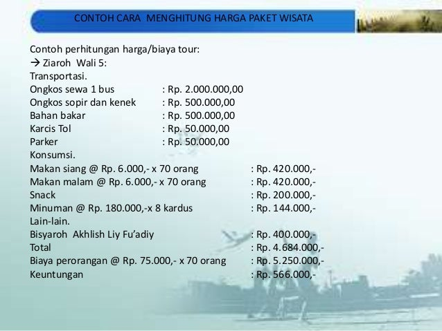 Image Result For Quotation Paket Wisata