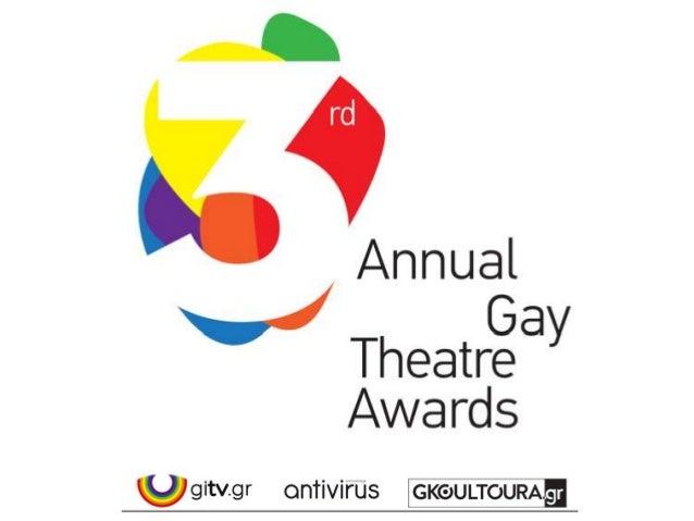 Gay Theatre Awards 2011-2013 Ο ΜΙΚΡΟΣ ΕΓΩBENT