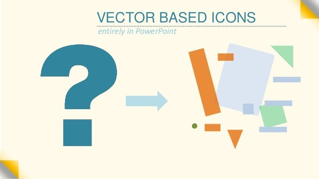 Making Vector Icons: ENTIRELY in PowerPoint