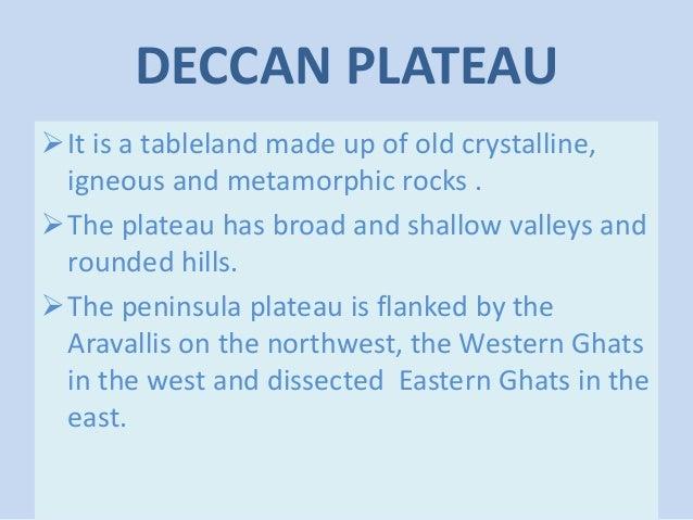 peninsula plateau made by yash chauhan Slide 5