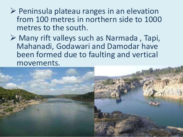 peninsula plateau made by yash chauhan Slide 6