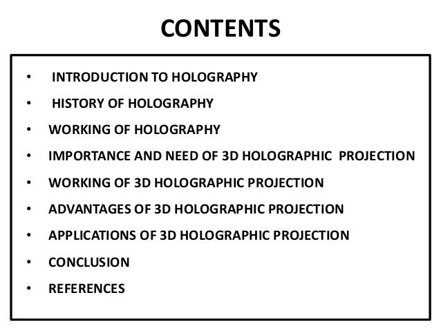 """an introduction to the history of holograms To the editors: the 1965 hologram by emmett leith and juris upatnieks, shown in """"whatever became of holography"""" (november–december), is one of the first true holograms but unless one moves one's head to see """"behind"""" the toy train, that hologram looks not much different than any 3-d image projected on a 2-d."""