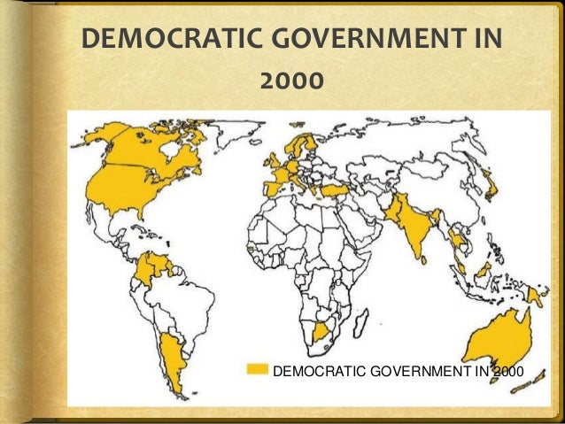 Difference Between Democratic and Non-Democratic Government
