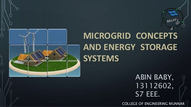 Sizing of energy storage for microgrid ppt video online download.