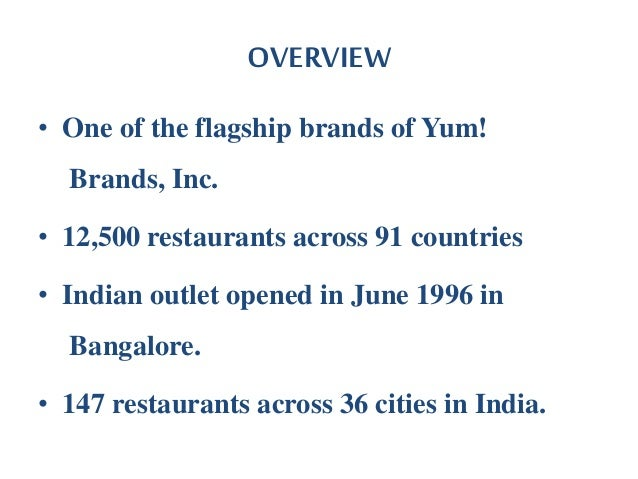 an overview of the market structure of the fast food industry This necessitates a better understanding of the ff industry structure  china  fast-food restaurants market: new market research published.
