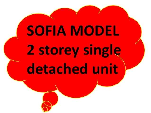 SOFIA MODEL 2 storey single detached unit