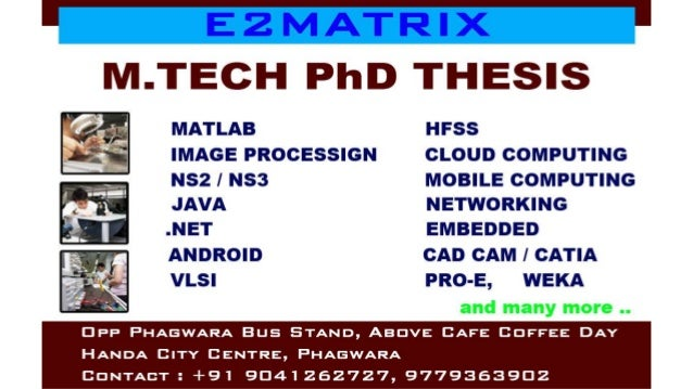 Choose Thesis Guide to Complete your PHD and M tech Thesis