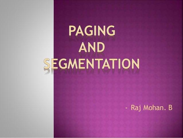 - Raj Mohan. B
