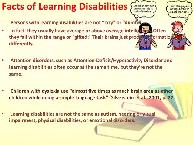 detailed presentation on learning disabilities
