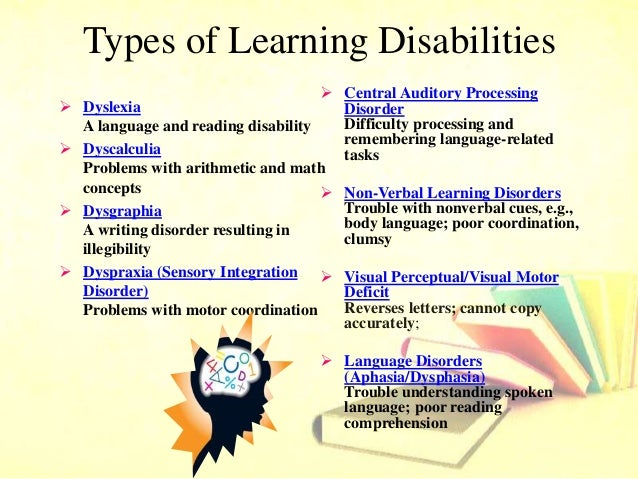 thesis learning disabilities For someone that has been diagnosed with a learning disability, they may feel that it takes over their lives but with the right help it will not affect.