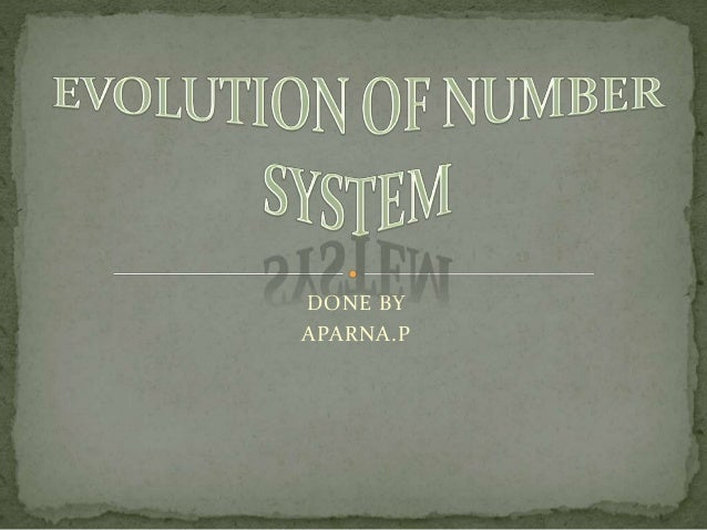 History of number system youtube.