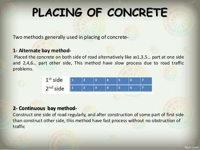 Construction Of Cement Concrete Road