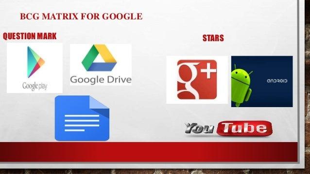Bcg Matrix For Google