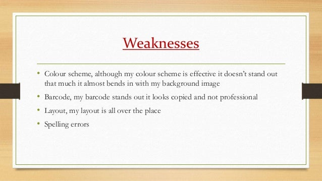 how to find my strengths and weaknesses