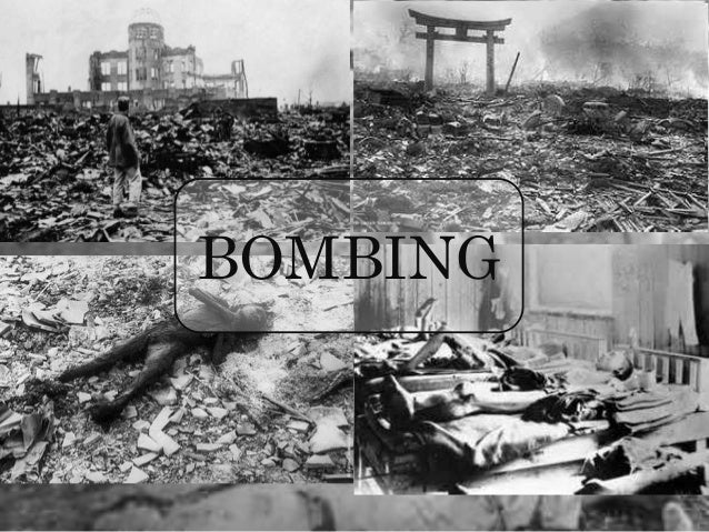 a description of the morality of us bombing of hiroshima by christopher philippi Bells tolled and thousands bowed their heads in prayer in hiroshima on thursday at ceremonies marking the 70th anniversary of the world's first atomic bombing.