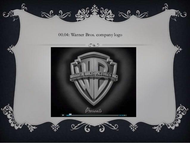 00.04: Warner Bros. company logo