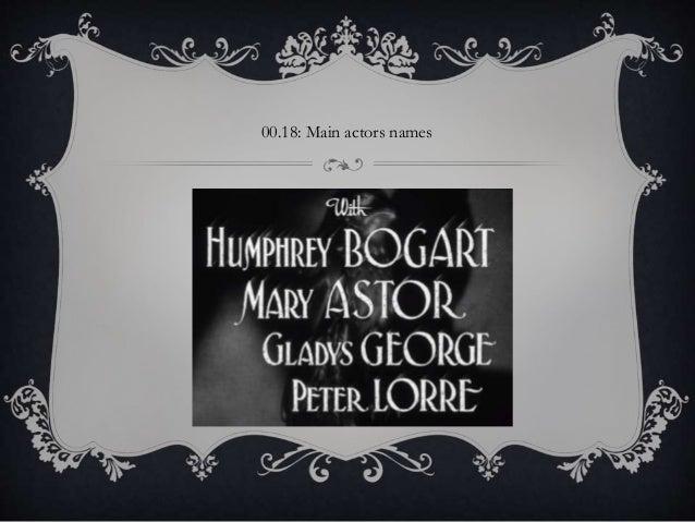 00.18: Main actors names