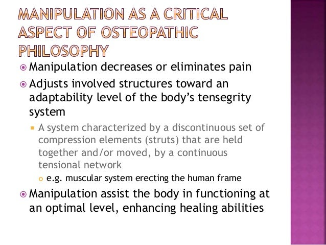 presentation1 osteopathic medicine