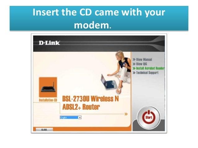update software d-link dsl-2730u