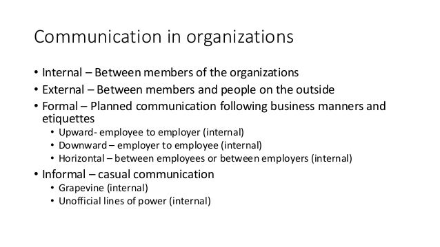 Focus on the Fundamentals of Effective Communication within an Organization